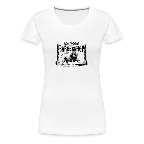 The Original Barbershop - Women's Premium T-Shirt