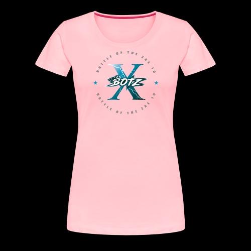 BOTZ X Circle Logo - Women's Premium T-Shirt