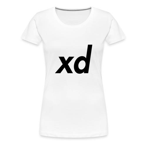 xd - Women's Premium T-Shirt