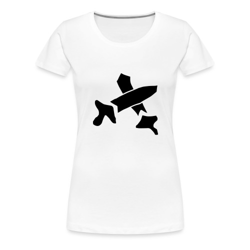 Black Swords - Women's Premium T-Shirt