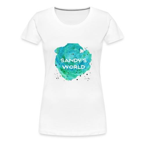 Sandy's World - Women's Premium T-Shirt