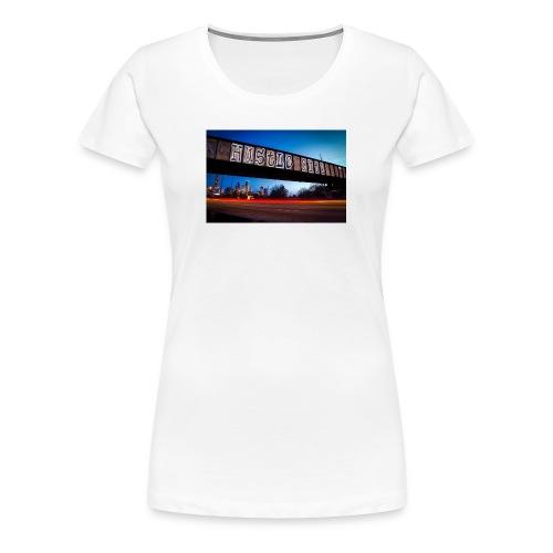 Husttle City Bridge - Women's Premium T-Shirt