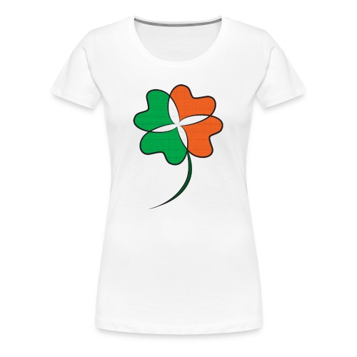 Irish Clover - Women's Premium T-Shirt