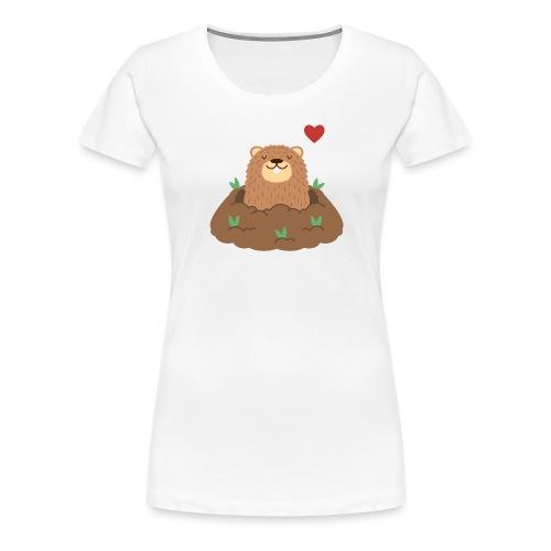 Groundhog Love - Women's Premium T-Shirt