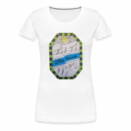 2nd position Squamish Hull - Women's Premium T-Shirt