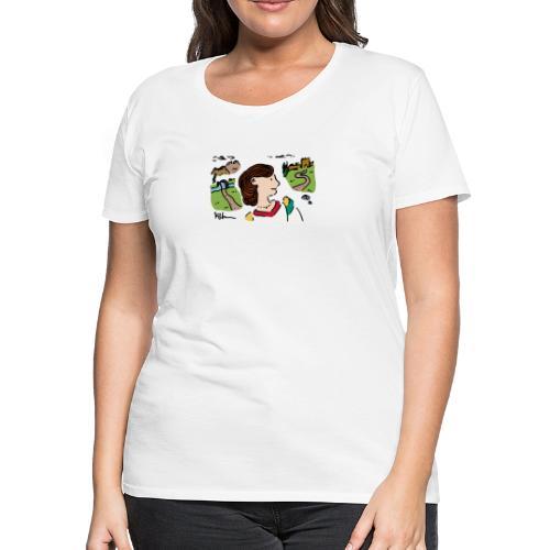 Italian Princess - Women's Premium T-Shirt