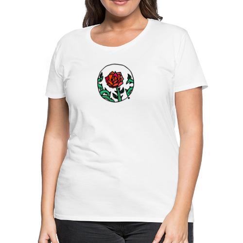 Rose Cameo - Women's Premium T-Shirt