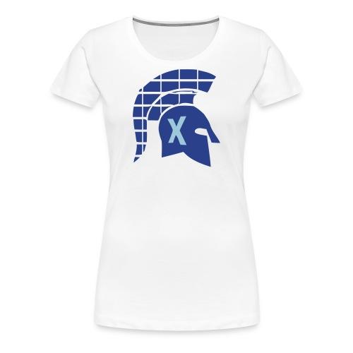 Spartans Tech Blue - Women's Premium T-Shirt