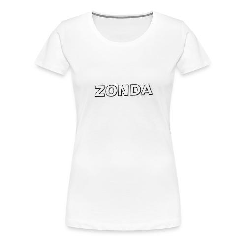The Basic Zonda look - Women's Premium T-Shirt