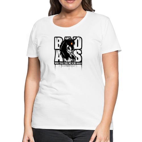 Bad Ass Unicorn - Women's Premium T-Shirt
