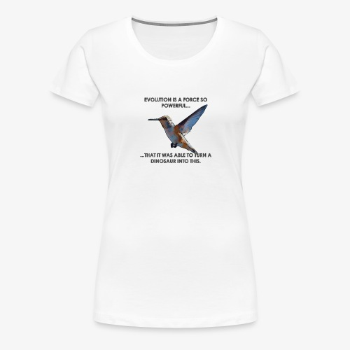 A powerful force - Women's Premium T-Shirt