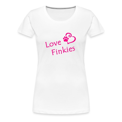 Love-Finkies - Women's Premium T-Shirt