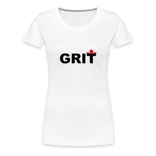 Grit - Women's Premium T-Shirt