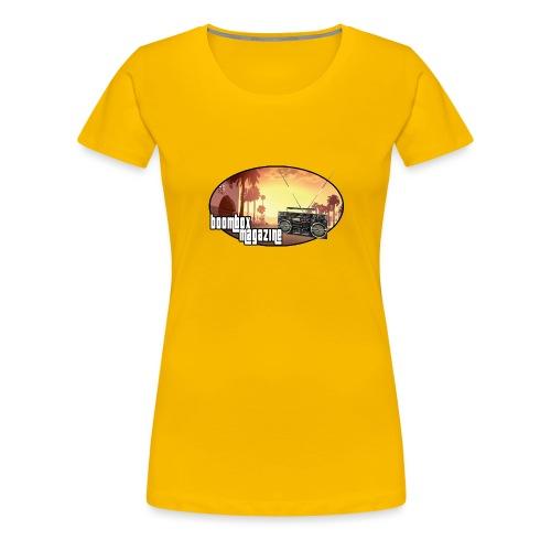 Boombox Magazine 975 - Women's Premium T-Shirt