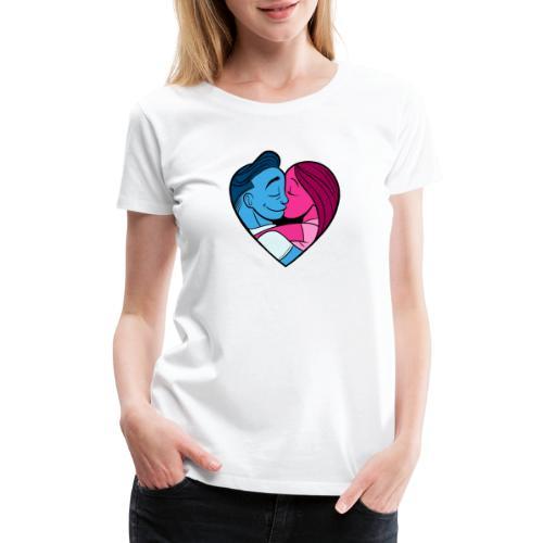 Love (Color version) - Women's Premium T-Shirt