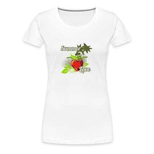 summer love - Women's Premium T-Shirt