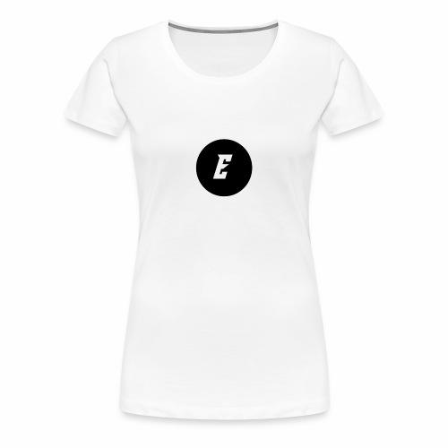 Circle Supreme E Logo - Women's Premium T-Shirt