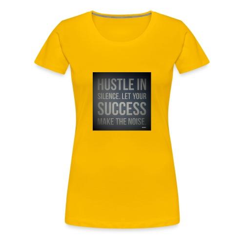 HUSTLE2 - Women's Premium T-Shirt