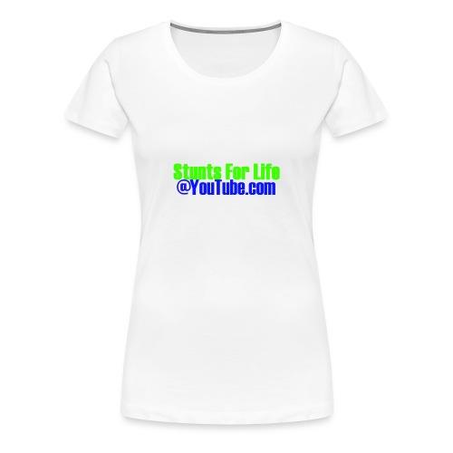 stunts for life - Women's Premium T-Shirt