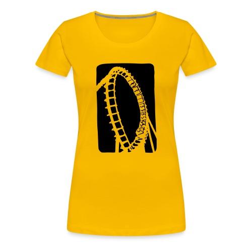 Roller Coaster - Women's Premium T-Shirt