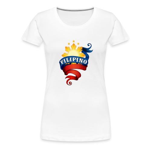 Filipino Logo - Women's Premium T-Shirt