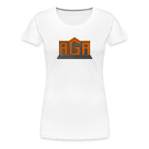 AGA Logo PNG - Women's Premium T-Shirt