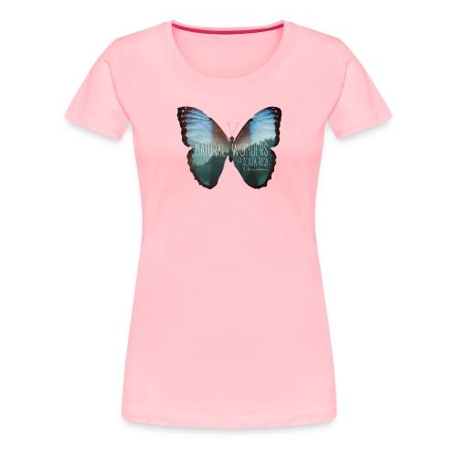 Butterfly_rainforest_3 - Women's Premium T-Shirt