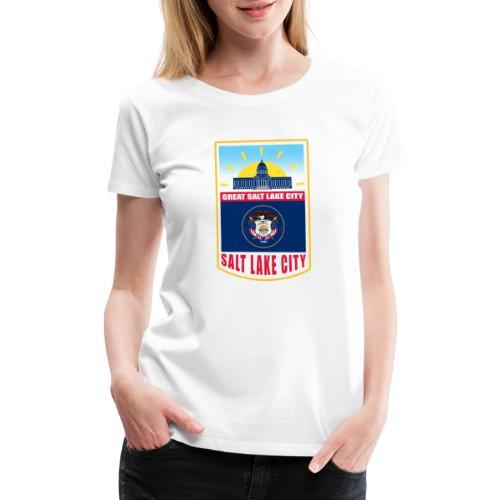 Utah - Salt Lake City - Women's Premium T-Shirt