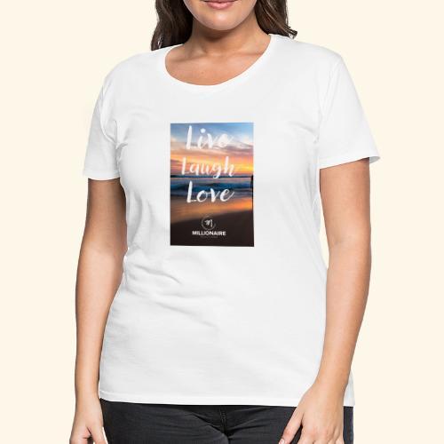 live laugh love - Women's Premium T-Shirt