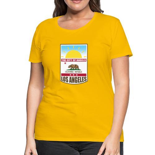 Los Angeles - California Republic - Women's Premium T-Shirt