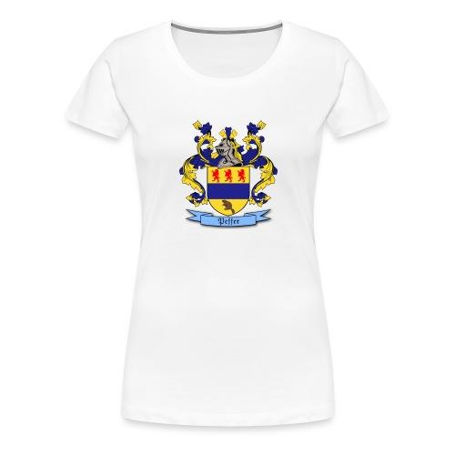 Peffer Family Crest - Women's Premium T-Shirt