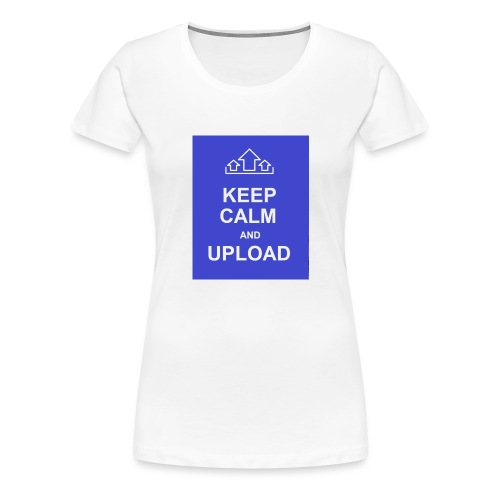 RockoWear Keep Calm - Women's Premium T-Shirt
