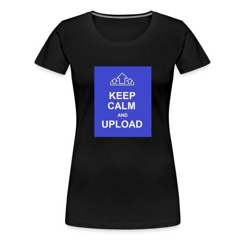 RockoWear Keep Calm - Women's Premium T-Shirt