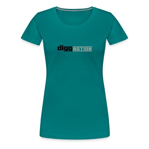 diggnation 2 color - Women's Premium T-Shirt