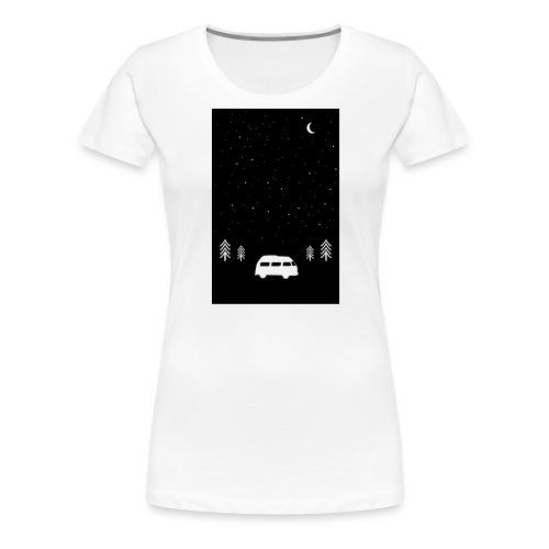 Van Life Through The Night // Augmented Reality AR - Women's Premium T-Shirt