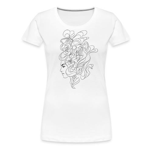 curly - Women's Premium T-Shirt