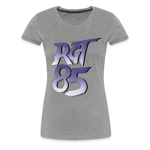 RGT 85 Logo - Women's Premium T-Shirt