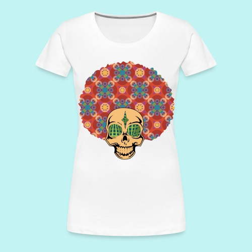 MACK DADDY SKULLY - Women's Premium T-Shirt