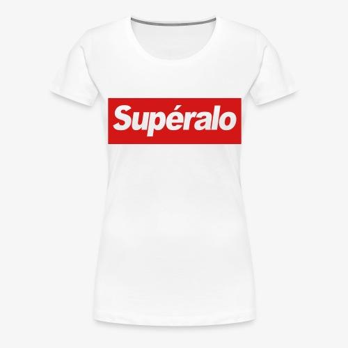 superalo - Women's Premium T-Shirt