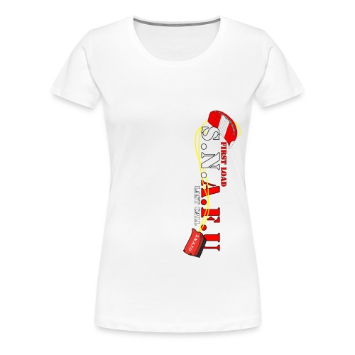 SNAFU2 transparent png - Women's Premium T-Shirt