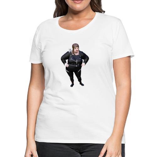 BELLS OF NEVERMORE AND HER CAT - Women's Premium T-Shirt