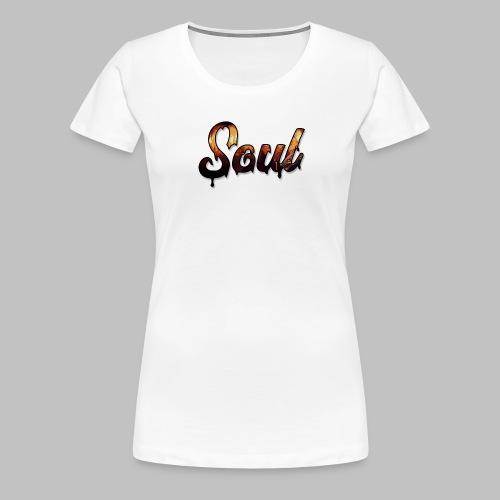 SOUL Apparel Pixel Hell Logo - Women's Premium T-Shirt