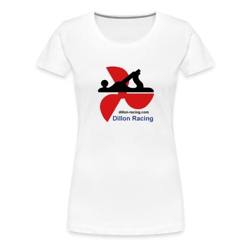 Logo Sticker - Women's Premium T-Shirt