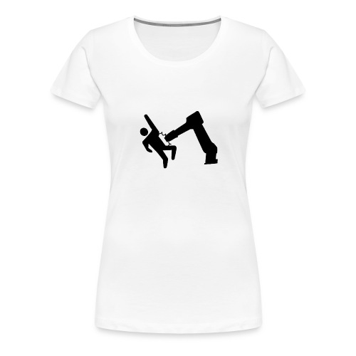 Robot Wins! - Women's Premium T-Shirt