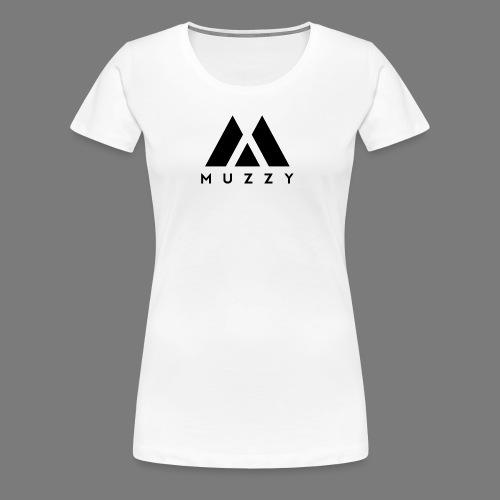 MUZZY Offical Logo Black - Women's Premium T-Shirt