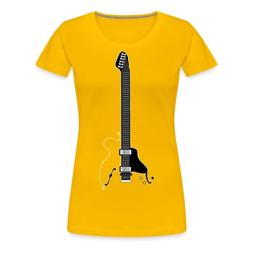 Electric Guitar - Women's Premium T-Shirt