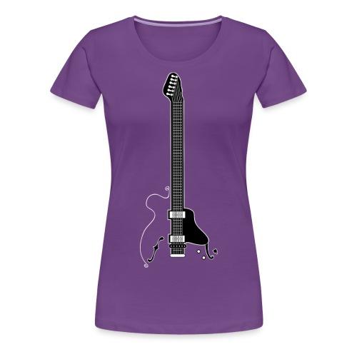 Electric Guitar - Women's Premium T-Shirt