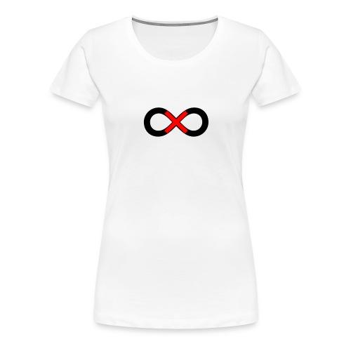 infinity symbol - Women's Premium T-Shirt
