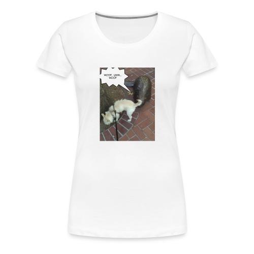 Naughty lil beaver - Women's Premium T-Shirt