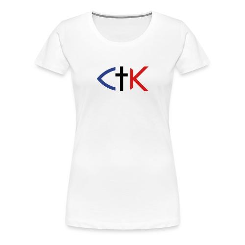 ctkfishsvg - Women's Premium T-Shirt